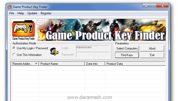 Game-Product-Key-Finder